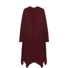 Relaxed Fit Cashmere Cape