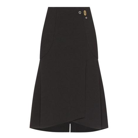 Flitter Crepe Skirt, ${color}