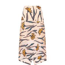 Floral Filg Skirt