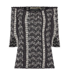 Dover Multi-Yarn Knit Top