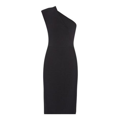 Brattle One-Shoulder Dress, ${color}