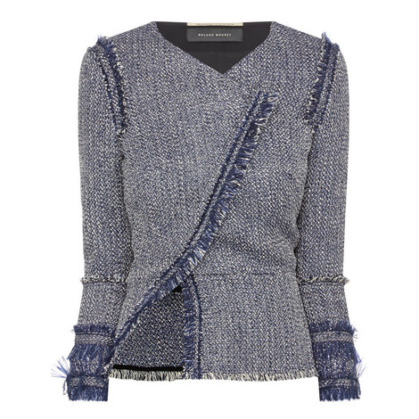 Kirkham Raffia Jacket, ${color}
