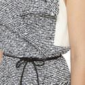 Lodge Lattice Weave Wrap Dress, ${color}