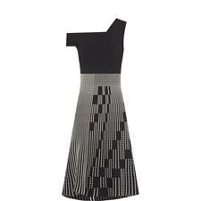 Richards Linear Patterned Dress
