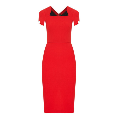 Royston Pencil Dress, ${color}
