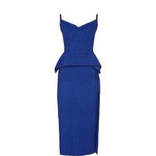Textured Straight Fit Dress