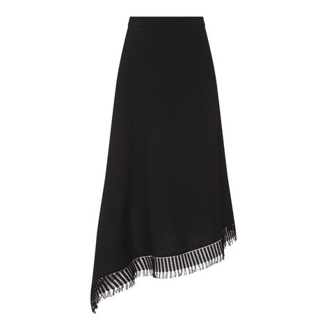 Tarring Fringe Pencil Skirt, ${color}