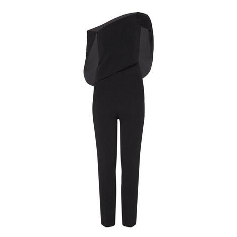 Carlton Asymmetric Jumpsuit, ${color}