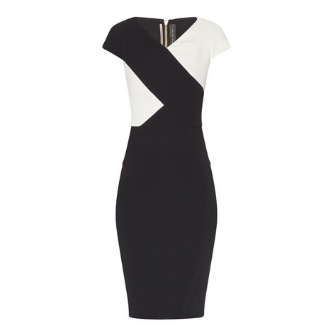 Tournay Cap Sleeve Dress, ${color}