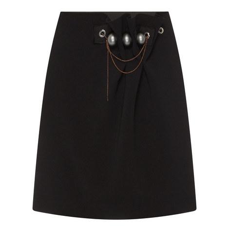 Embellished Mini Skirt, ${color}