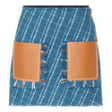 Tweed Mini Skirt, ${color}