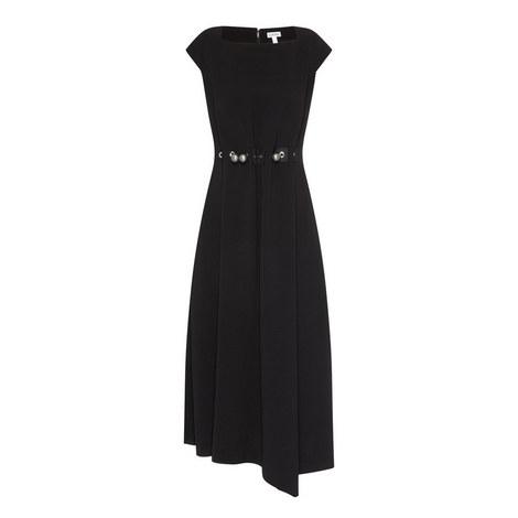 Embellished Asymmetrical Dress, ${color}