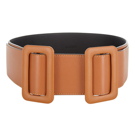Double Buckle Leather Belt, ${color}