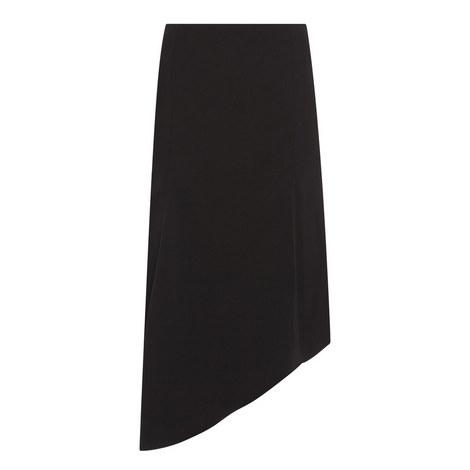 Asymmetrical Midi Skirt, ${color}