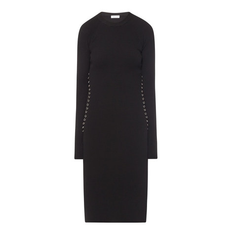 Embellished Knitted Dress, ${color}