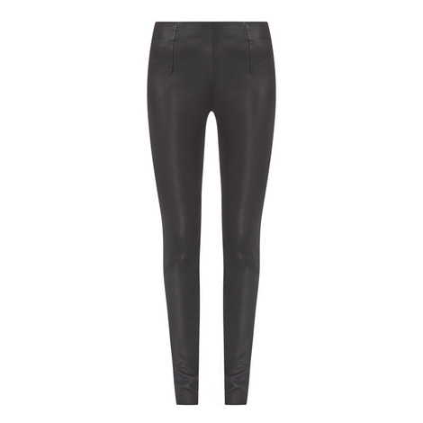 Nappa Leather Leggings, ${color}