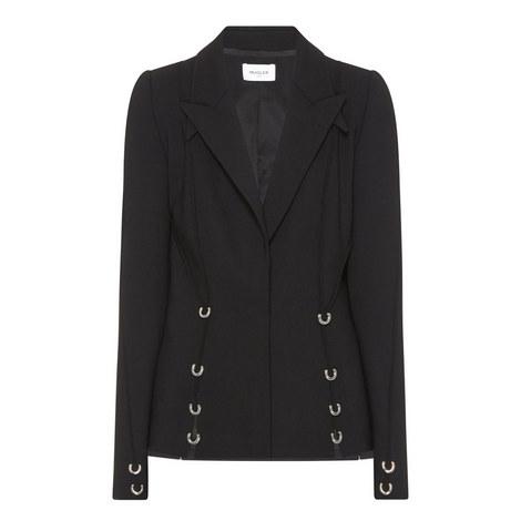 Embellished Single Breasted Blazer, ${color}