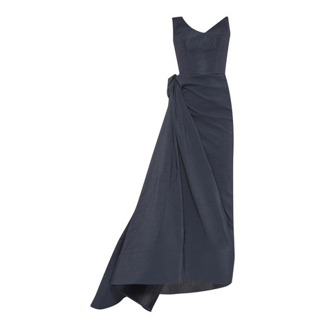Immense Draped Gown, ${color}