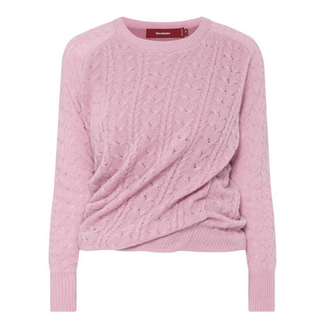 Libbie Round Neck Cashmere Sweater , ${color}
