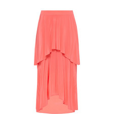 Paris Silk Layered Skirt
