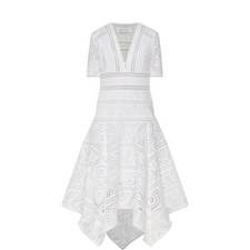 Meridian Handkerchief Hem Dress