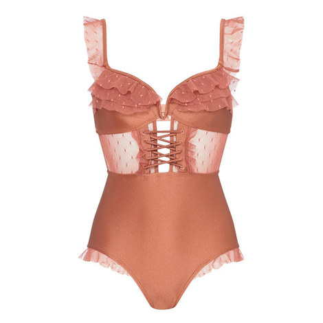 Lace Detail Swimsuit, ${color}