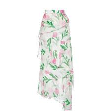 Tulip Long Chiffon Skirt