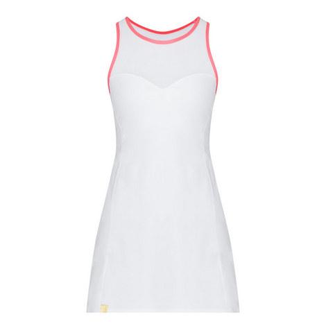 Contrasting Trim Tennis Dress, ${color}