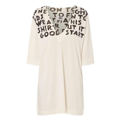 Oversized T-Shirt Dress, ${color}
