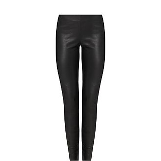 Delta Leather Leggings