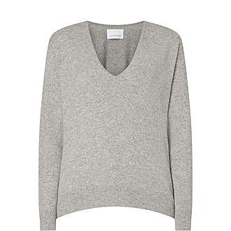 Boston V-Neck Cashmere Sweater