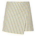 Vigna Check Mini Skirt, ${color}