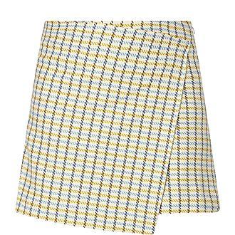 Vigna Check Mini Skirt