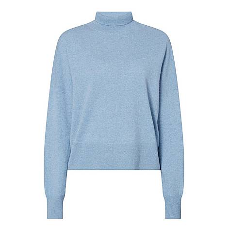 Cashmere Turtle Neck Sweater, ${color}