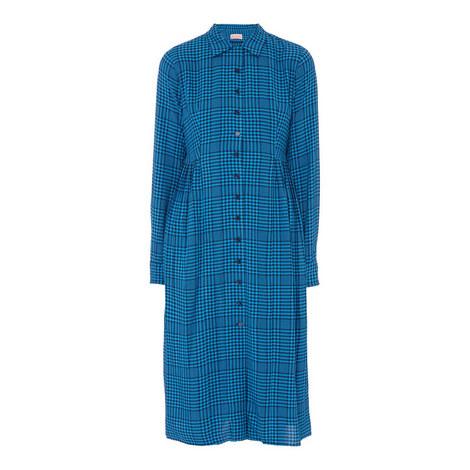 Lotta Check Shirt Dress, ${color}