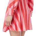 Kylie Sequin Stripe Dress, ${color}