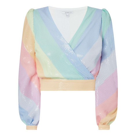 Kendall Stripe Top, ${color}