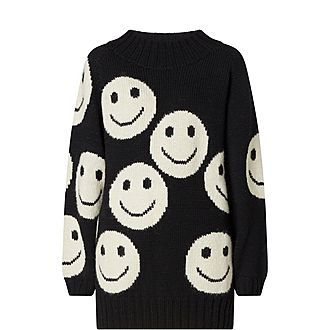 Redux Smiley Sweater