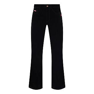 The Velvet Flared Jeans