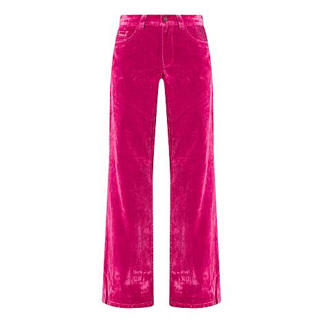 The Velvet Flared Jeans, ${color}