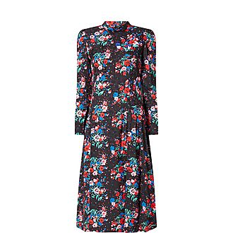 The 40's Floral Dress