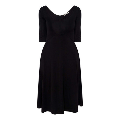 Delana Scoop Neck Dress, ${color}