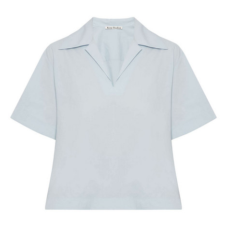 Sasha Poplin Blouse, ${color}
