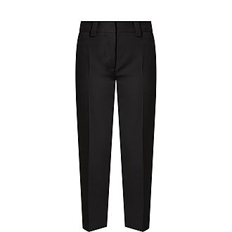 Cropped Suiting Trousers