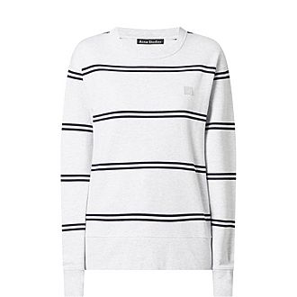 Marl Striped Sweatshirt