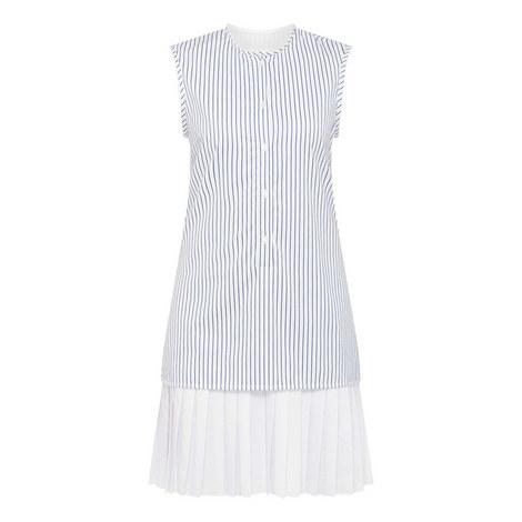 Pit Hem Shirt Dress, ${color}