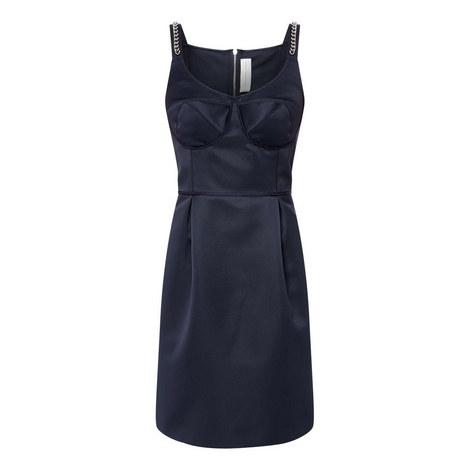 Chain Mini Dress, ${color}