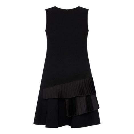 Frill Hem Mini Dress, ${color}