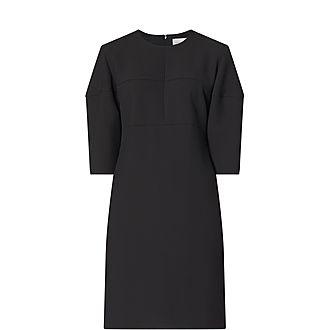 Structured Sleeve Mini Dress