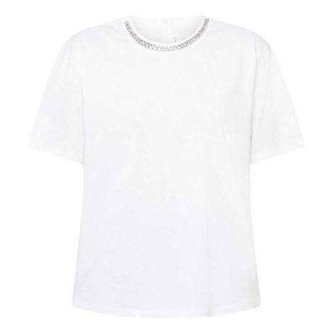 Chain Detail T-Shirt, ${color}